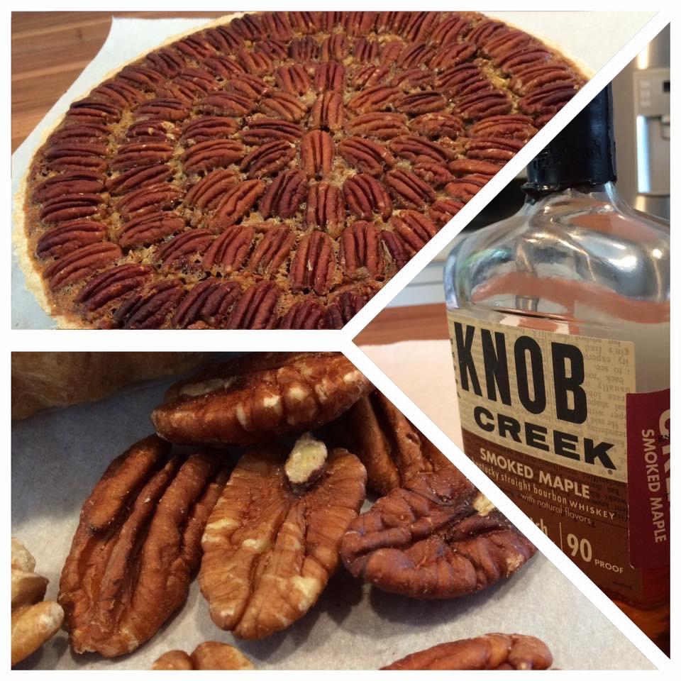 Smoked Maple Bourbon Pecan Pie