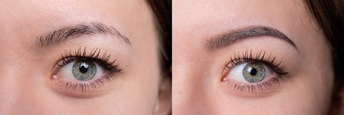 San Rafael microblading eyebrows by The Pamper Studio