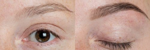 microblading San Rafael before after brows