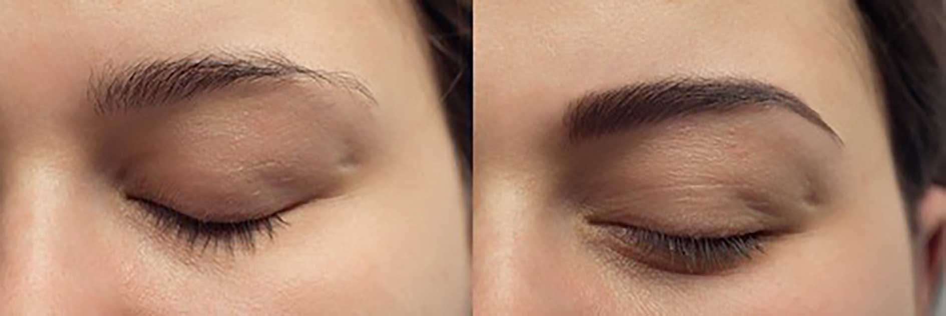microblading before after brows