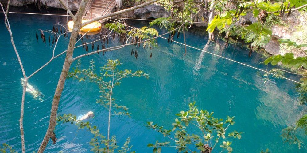 Como llegar al Cenote Popol-Vuh
