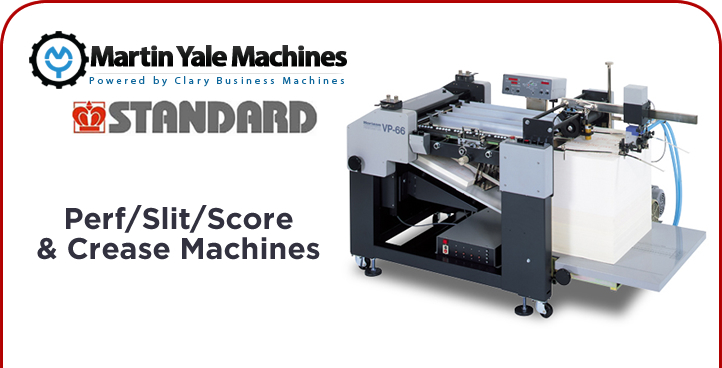 Perf/Slit/Score/Crease Machines