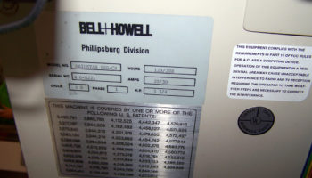 Bell & Howell Mailstar 500 4 station MBO GBR AUI