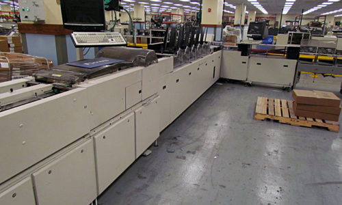 Pitney Bowes Y250 High Speed Sheet Feeder Parts Manual