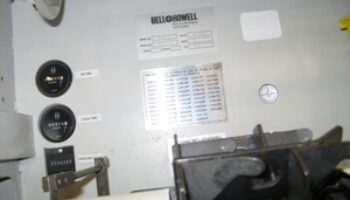 Bell & Howell 2000 with GBR VIP 438