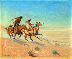 Lone Wolf (Hart M. Schultz): Cowboy, Actor & Artist
