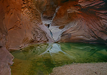 The North Canyon Pool, Grand Canyon National Park, Arizona, copyright Christopher Brown.