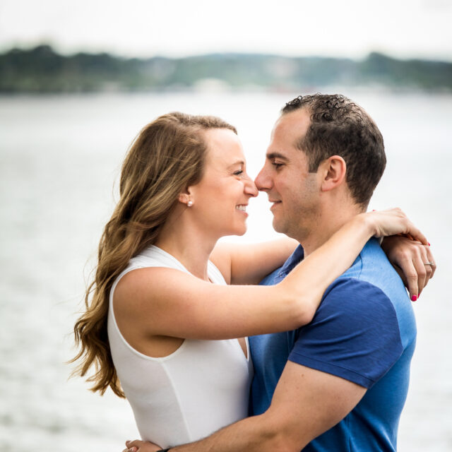 Rachel and Adam – Erie Engagement Session, Erie PA