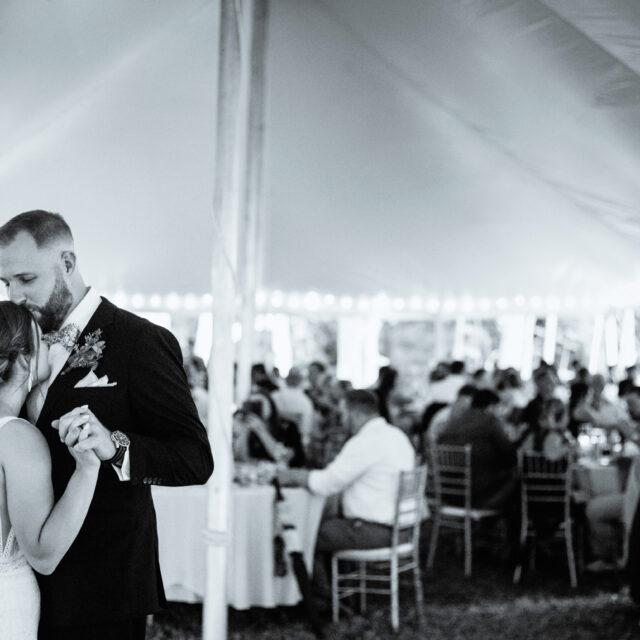 Megan and Rob – Candid Buffalo Backyard Wedding Photos, Eden NY