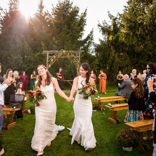 Kelly and Kathleen – Colorful Climbing Bines Hop Farm and Brewery Wedding Photos, Penn Yan NY