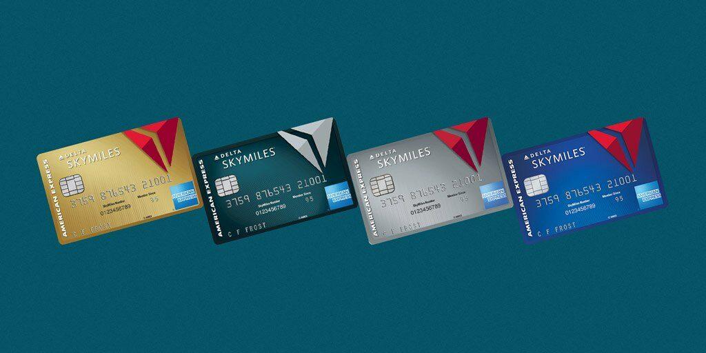 Delta Skymiles Blue International Credit Card