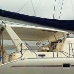 Leopard 4700 starboard side view