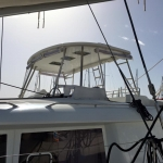 The Lagoon 450 with 3 viewing windows