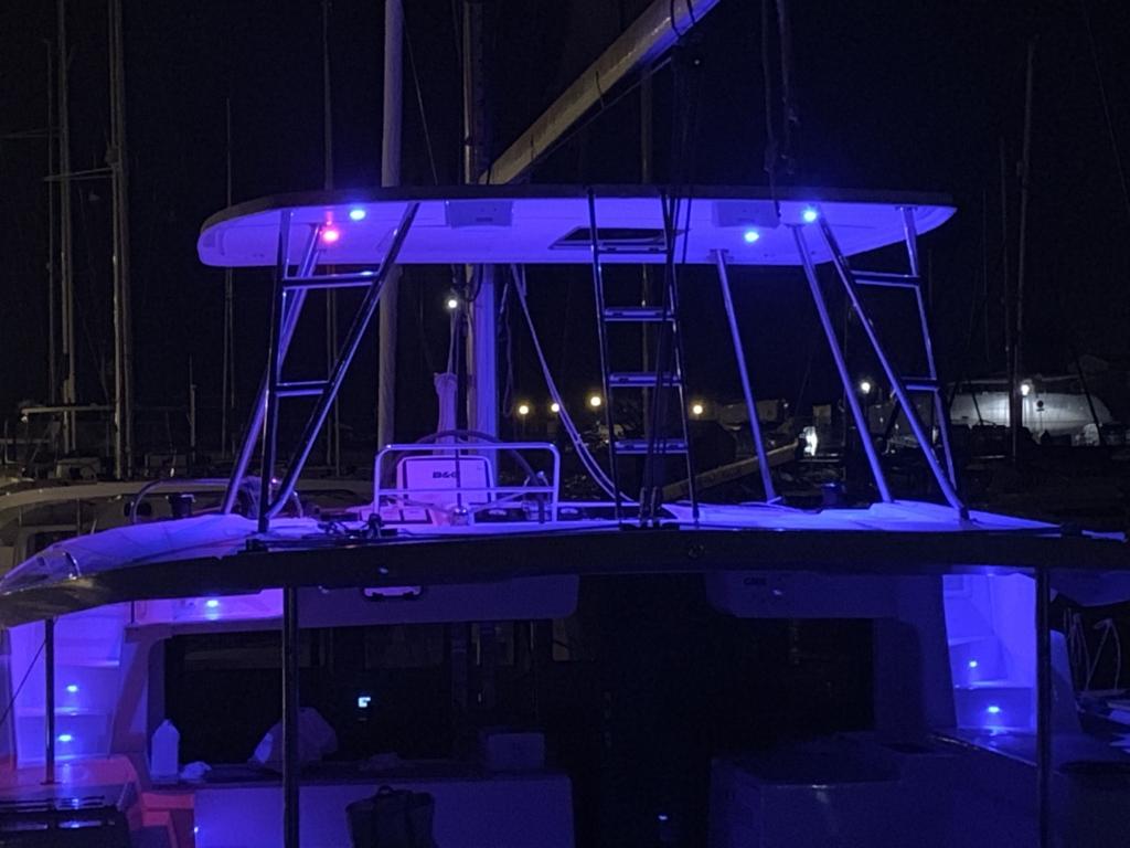 Lagoon 46 at Night
