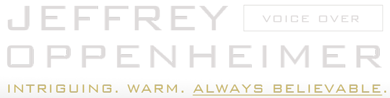 Jeffrey Oppenheimer Voice Over logo