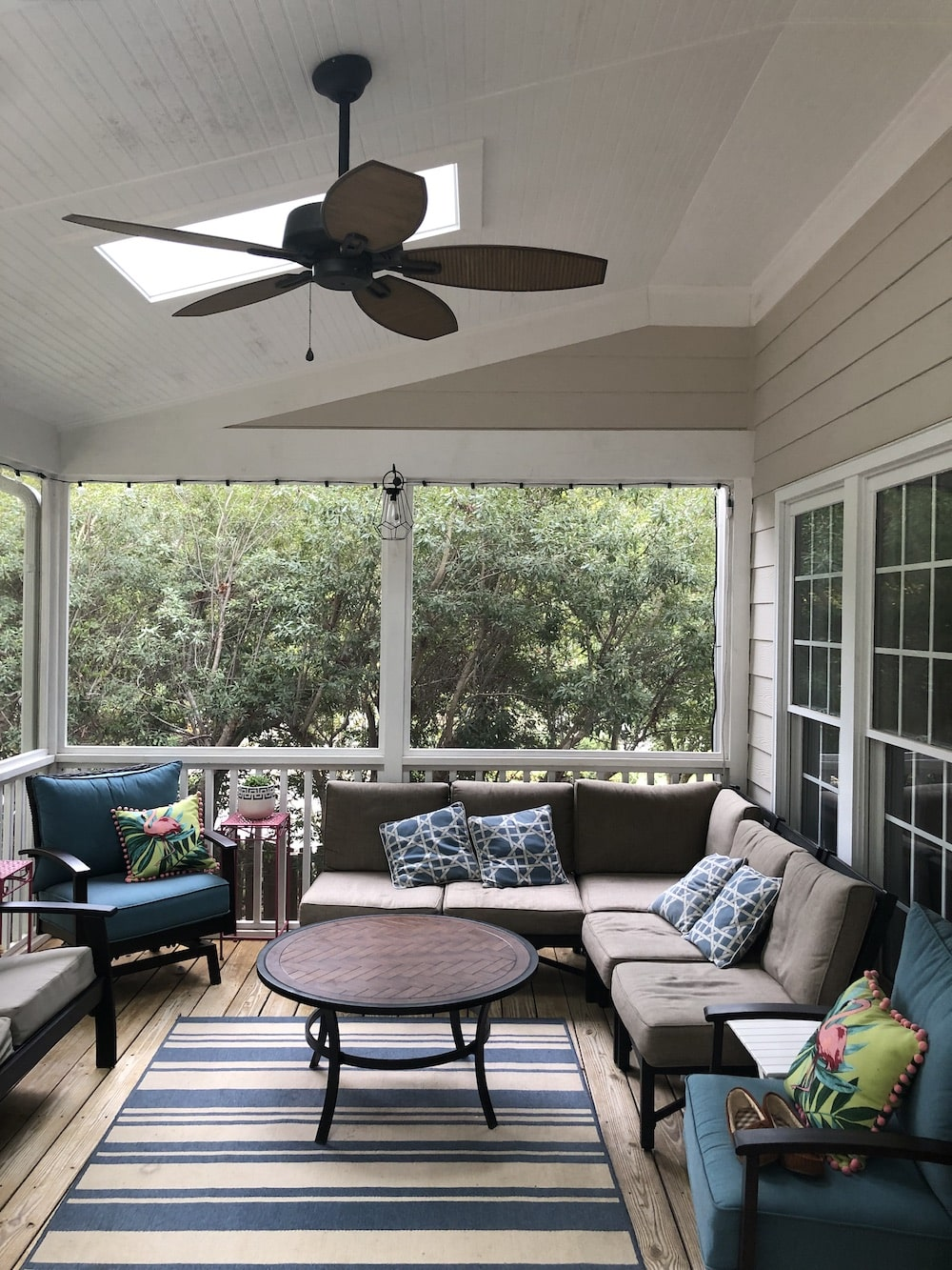 Porch Screen Repair Triangle
