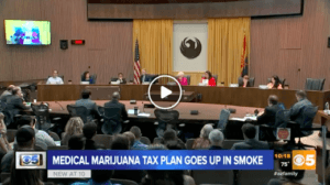 """MMJ Tax """"Killed"""" at Phoenix City Hall"""