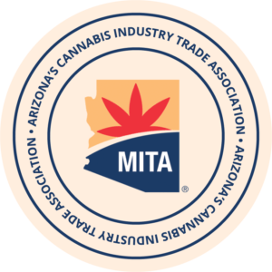 Official Badge of Arizona's Cannabis Industry Trade Association