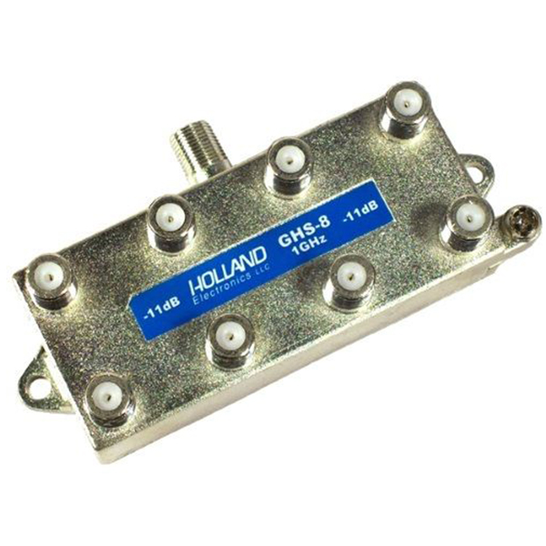 Holland 8-way 5-1000 MHz Splitter