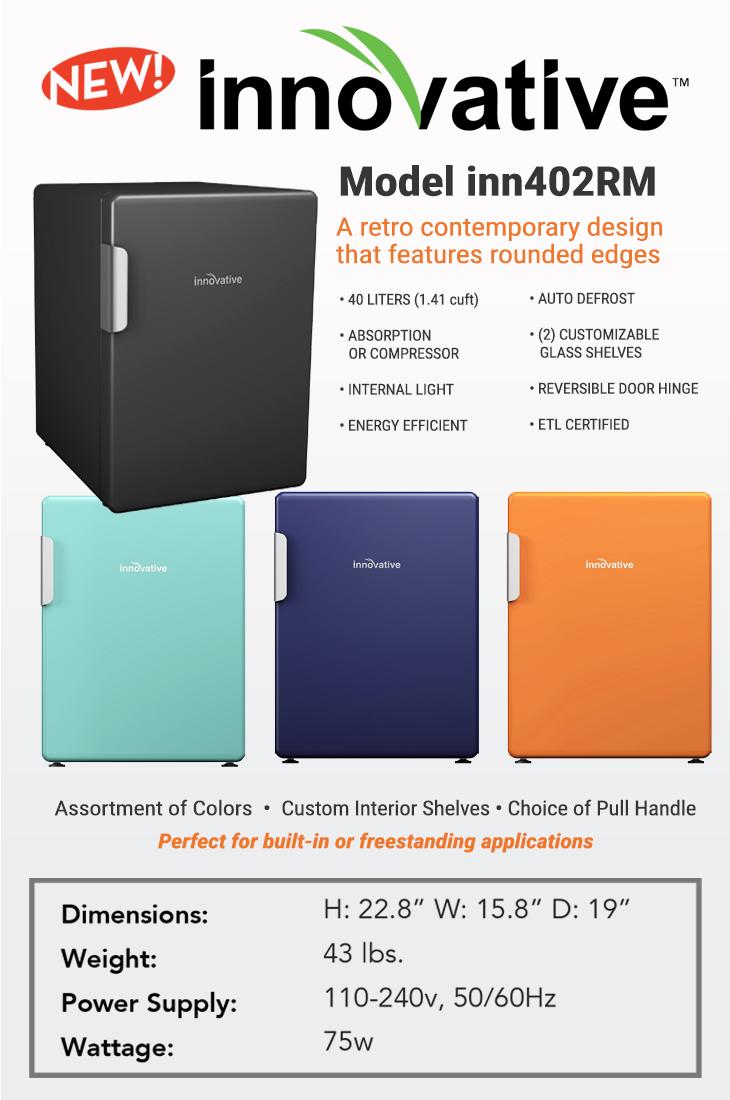 Retro fridge -inn402rm