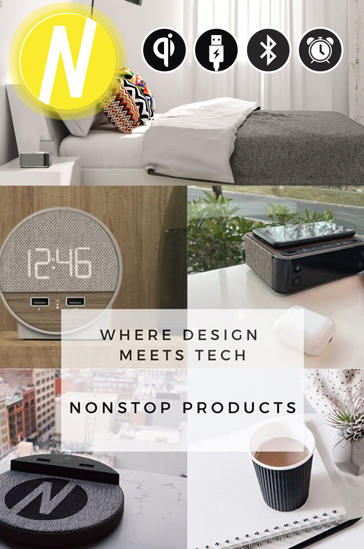 Nonstop products collage