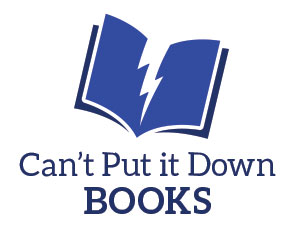 can't put it down books logo