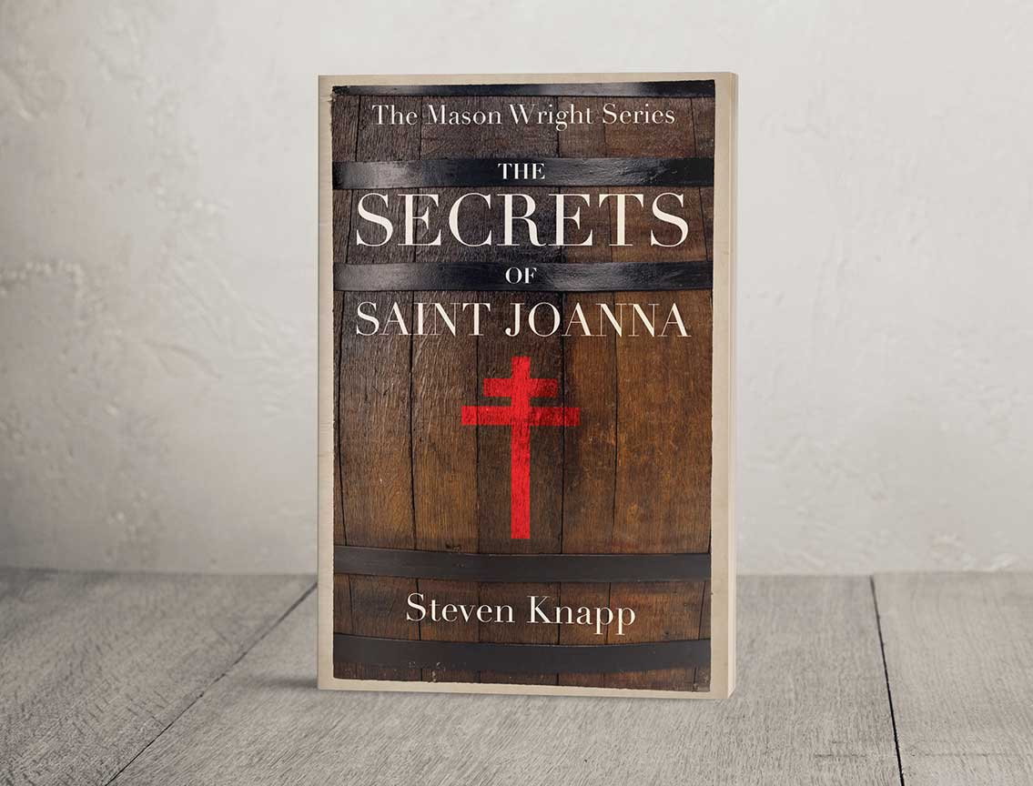 book cover for secrets of saint joanna