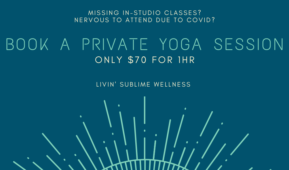 Dark Blue and Aqua Yoga Business Card