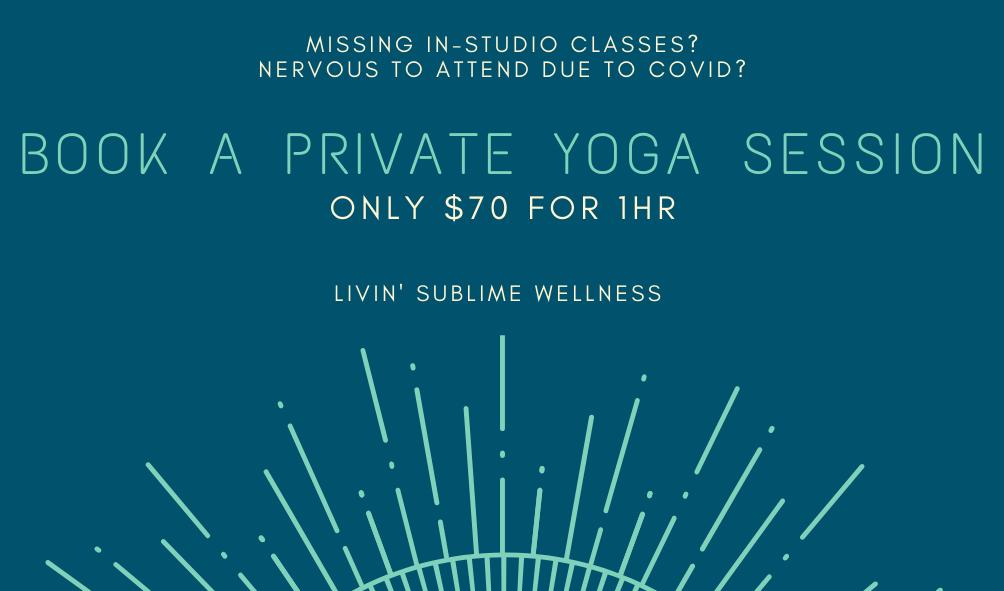 Dark Blue and Aqua Yoga Business Card