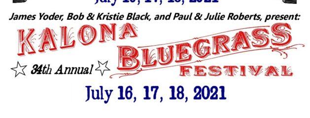 Kalona Bluegrass Festival