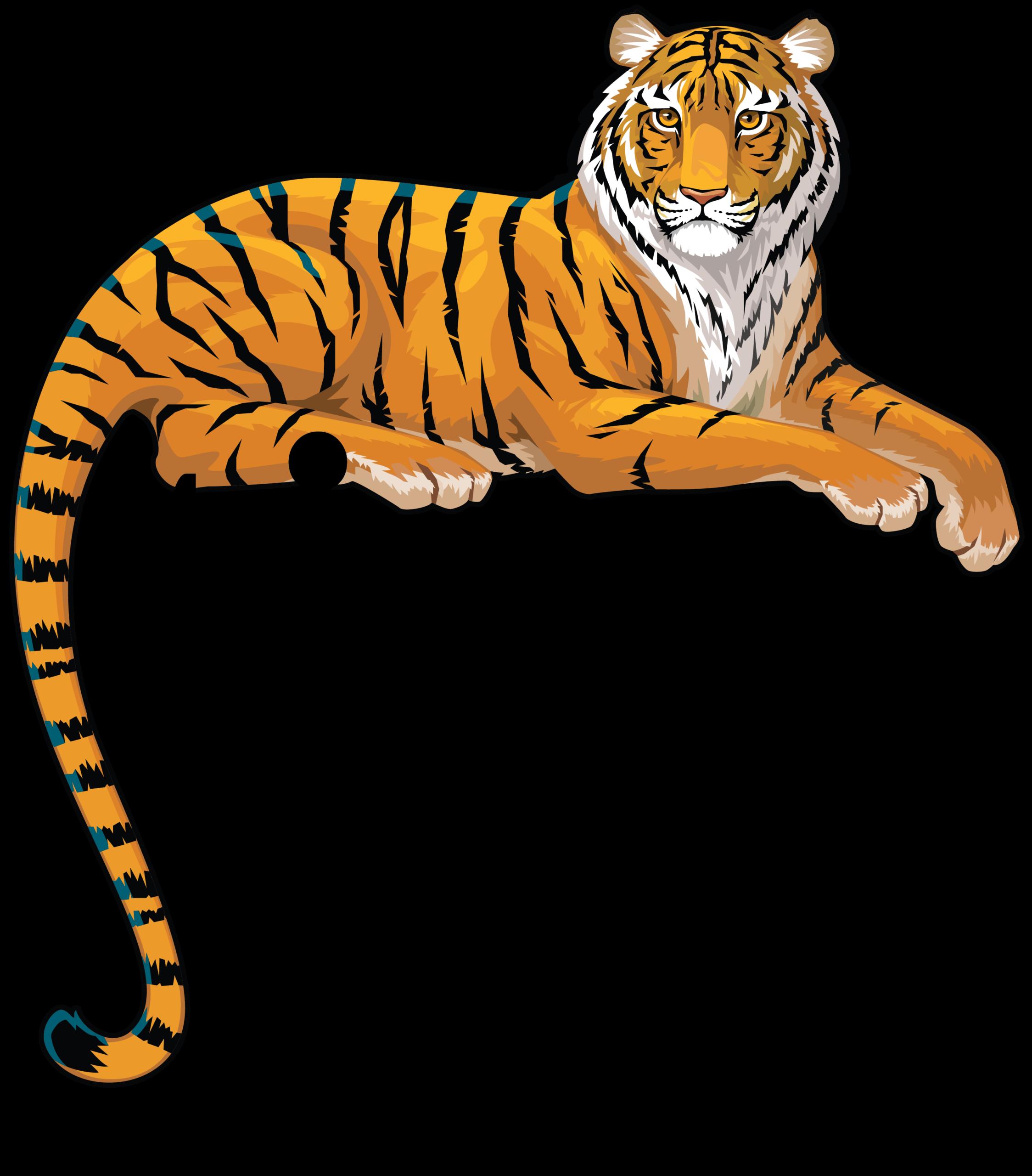 Tigertail Logo Blk CMYK