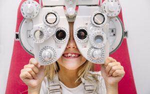 Optical Exam Patient