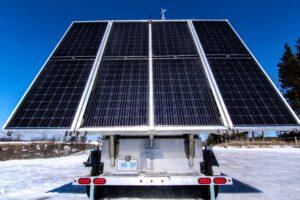 MOBISUN Mobile Off-Grid Solar Trailer