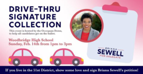2021 Briana Sewell Signature Collection for Delegate
