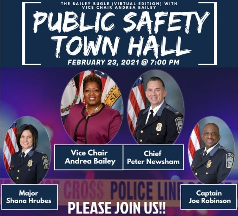 Public Safety Town Hall With Vice Chair Andrea Bailey