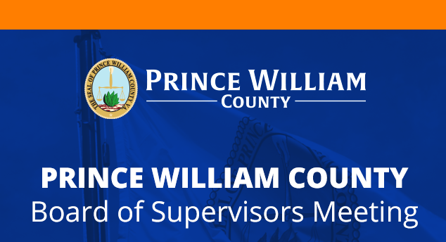 Prince William County Board of Supervisors Meeting