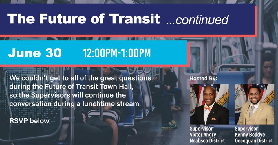 Future of Transit Continued with Supervisor Angry and Boddye