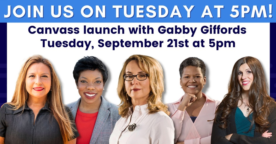 Canvas Launch Gabby Giffords
