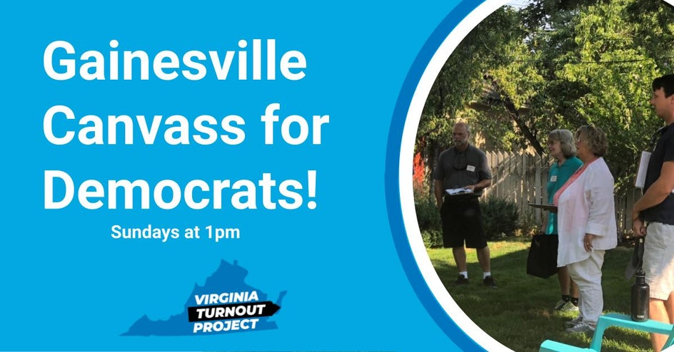 Gainesville Canvass for Democrats