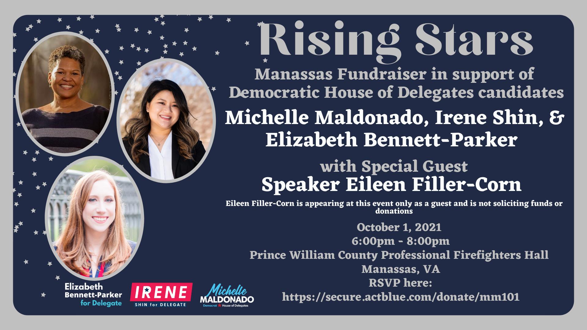 Michelle Maldonado Irene Shin Elizabeth Bennett-Parker Rising Stars