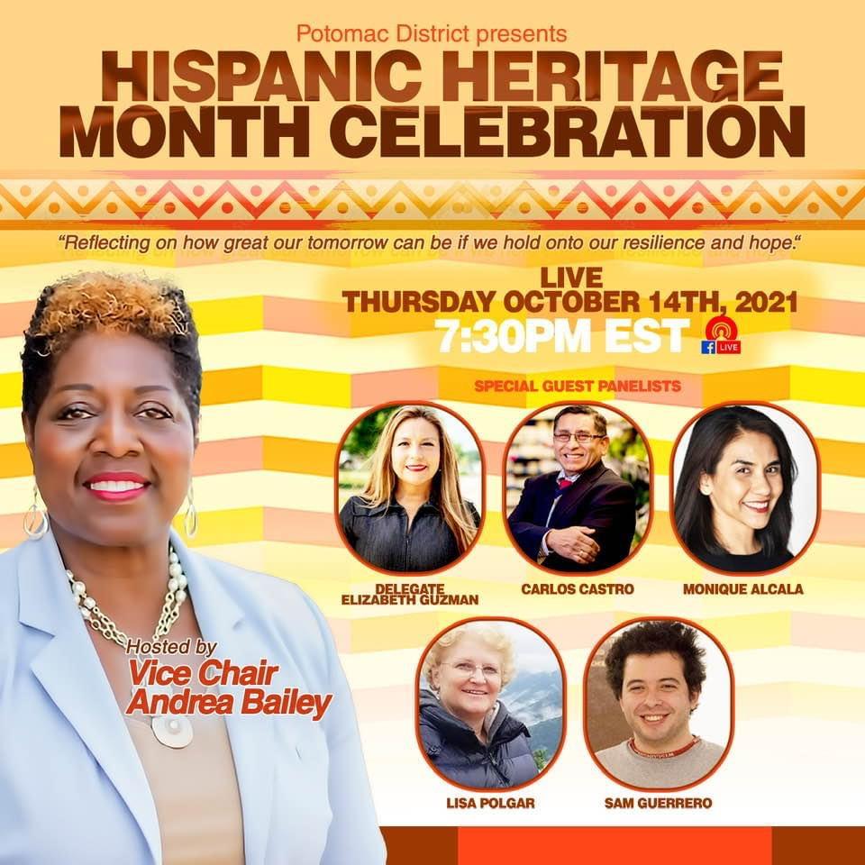 Potomac District presents Hispanic Heritage Month Celebration