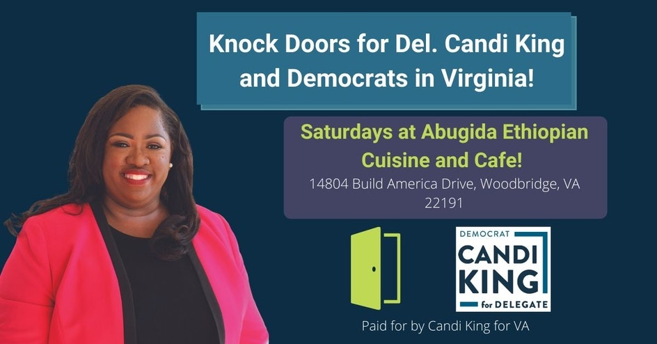 Canvass and Coffee with Team King on Saturday Mornings
