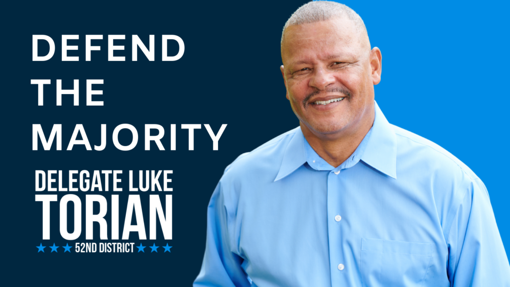 Defend The Majority Delegate Luke Torian