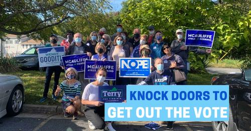 Knock Doors To Get Out The Vote