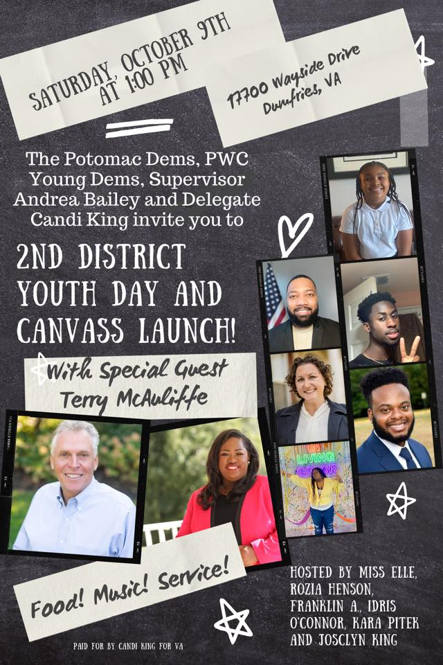 2nd District Youth Day Canvas Launch