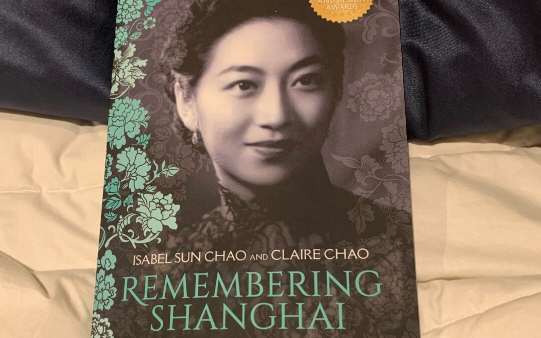 A lovely jaunt to 1930s Shanghai—and a break from today's ills