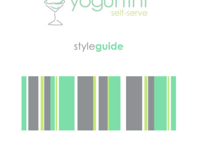 Yogurtini - Style Guide