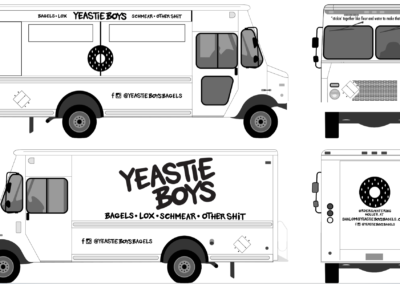 Yeastie Boys - Food Truck Design
