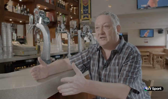 A day the life of a great British sports bar: Martin Whelan and the Tollington