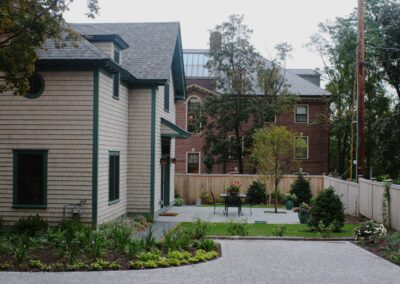 a4-architecture-Brown street-providence-LEED-silver-front walk